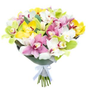 """Букет """"Краски орхидей"""""""